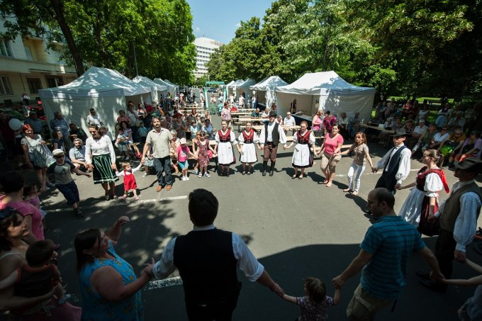Nemzeti Összetartozás Napja volt az Edömér utcában