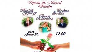 Operett és musical délután az AKH-ban