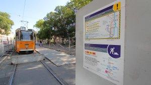 Pótlóbusz is besegít a 41-es villamos vonalán
