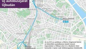 Buszjárat indul a Fehérló utcától a metróhoz