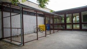 Kerékpártárolót kapott a Törökugrató iskola