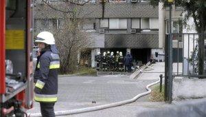 Tűz miatt kellett kiüríteni egy irodaházat a Dombóvári úton