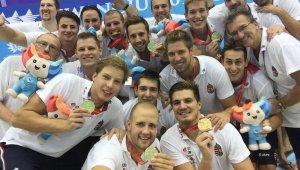 Universiade - Aranyérmes a férfi vízilabda-válogatott