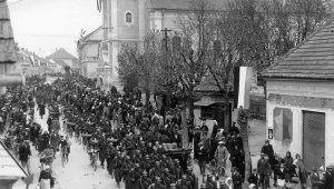 Jugoszlávia megszállása, a magyar csapatok bevonulása 1941. április 16-án